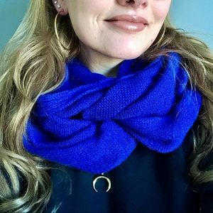 H&M Royal Blue Infinity Scarf